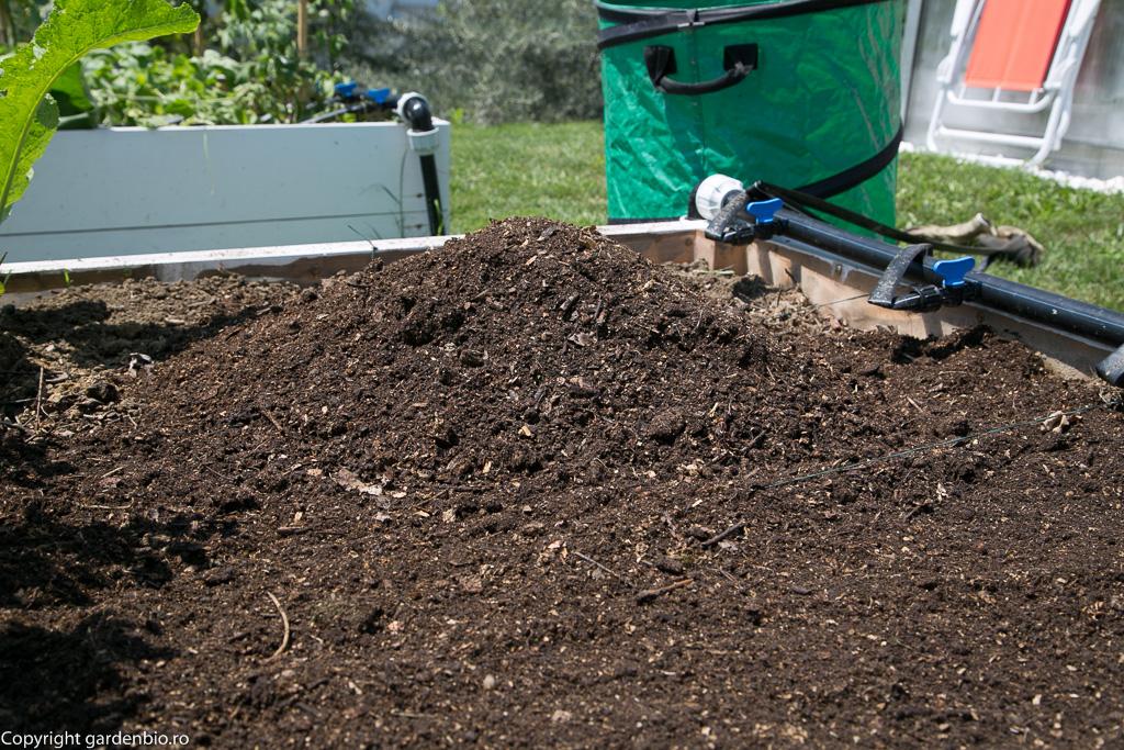 Utilizarea compostului este un mod de cultivare sustenabil, prin îmbunătăţirea de la un an la altul a solului, faţă de agricultura modernă care este nesustenabilă, epuizează solul, poluează pânza freatică prin utilizarea chimicalelor.