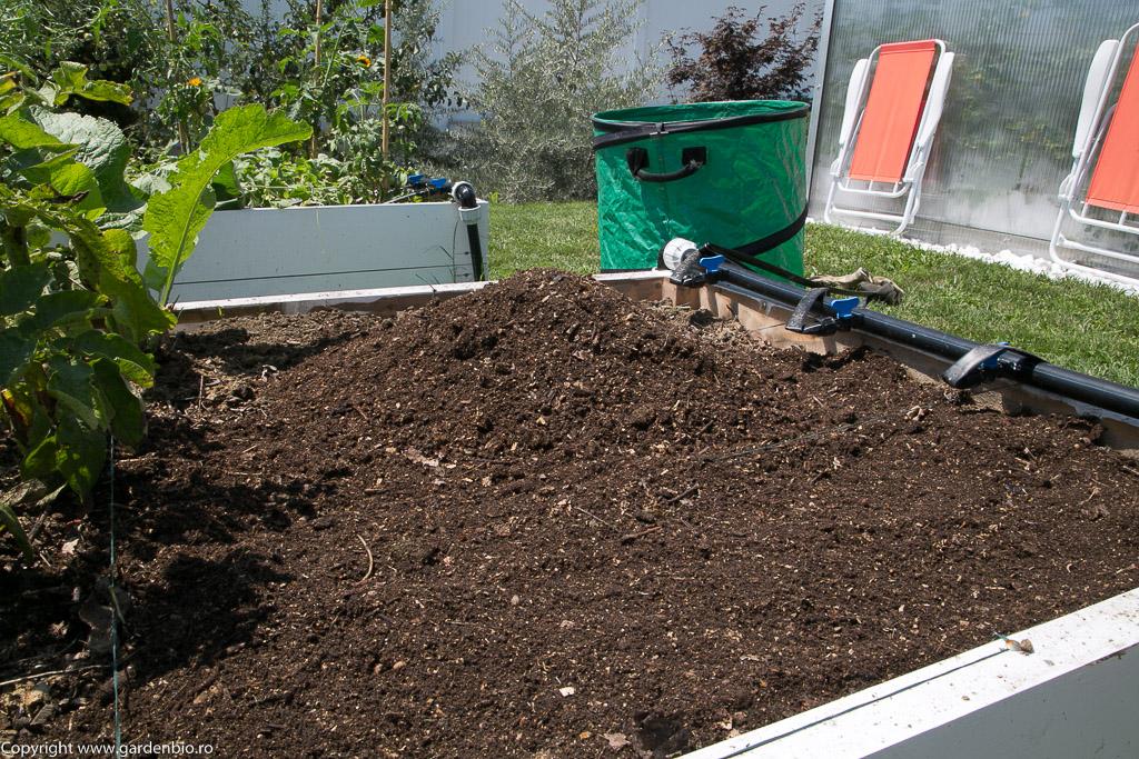 Compost gata pentru utilizare in strat