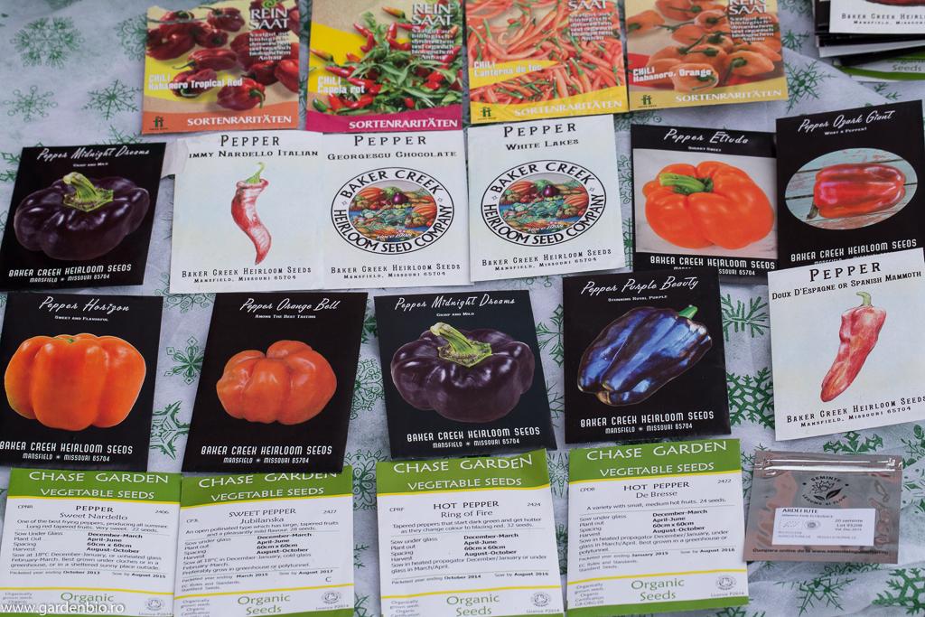 Soiuri de ardei tradiţionale ce le cultiv anul acesta în grădină