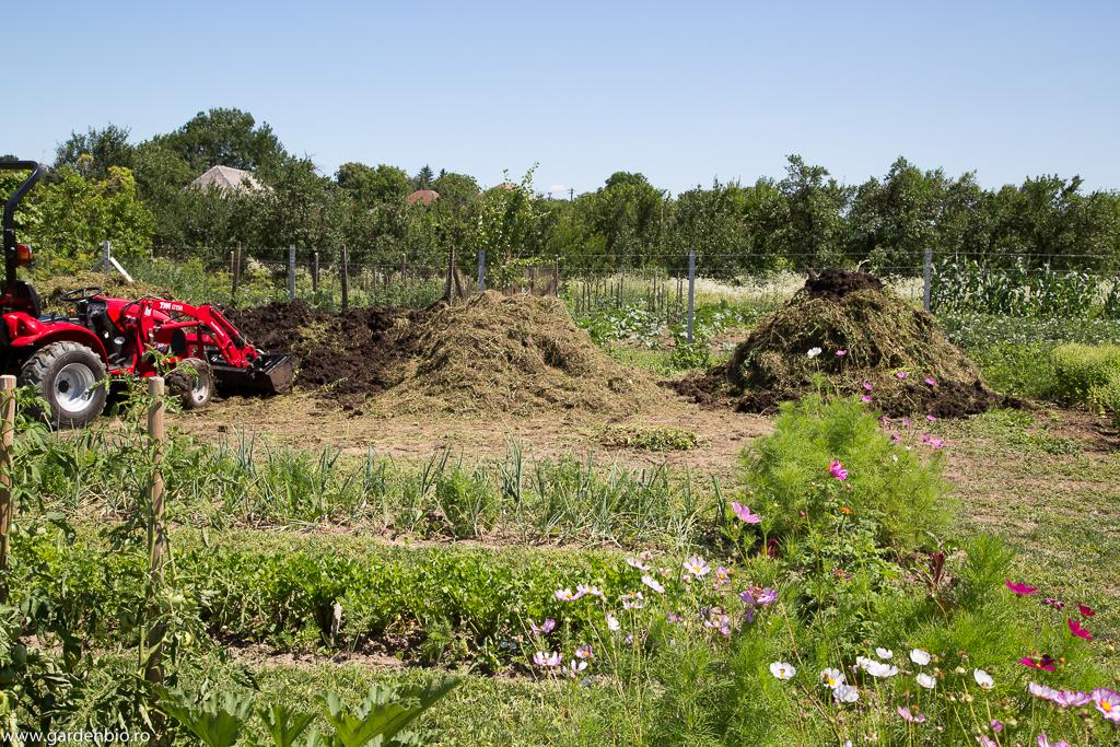 Pregătirea compostului
