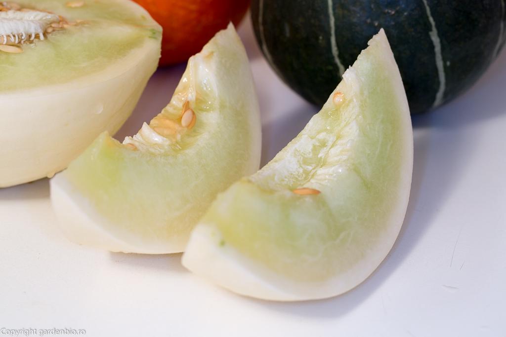 Felii delicioase de pepene galben Honeydew Green Flesh