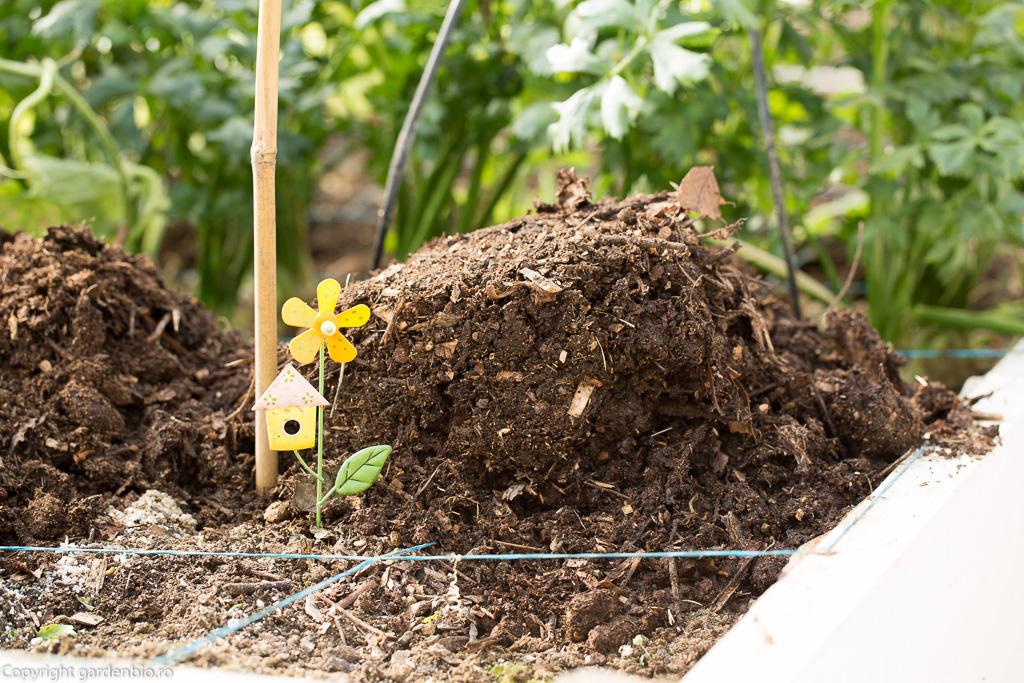 Pe langa aportul de nutrienti, compostul are si avantajul de a echilibra PH-ul solului